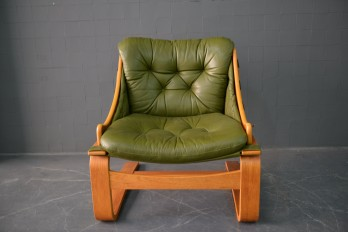 Green Swing Chair