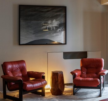 Reddish Shade of Brown Armchair