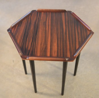 Danish Hexagonal Small Table